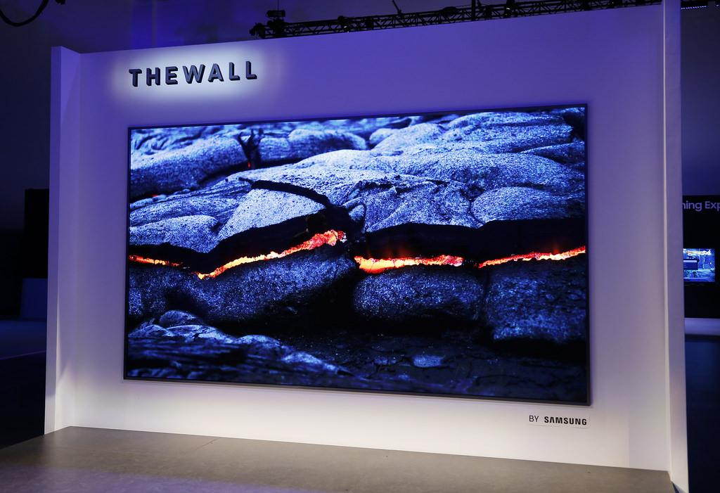 Samsung's Wall TV
