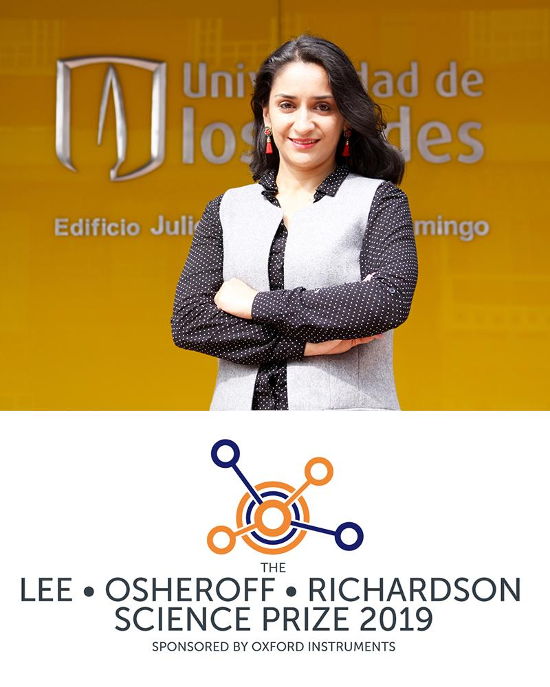 Lee Osheroff Richardson Science Prize 2019